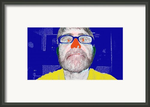 Blue Me Framed Print By Charlie Spear