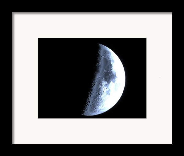 Blue Moon Framed Print By George Leask
