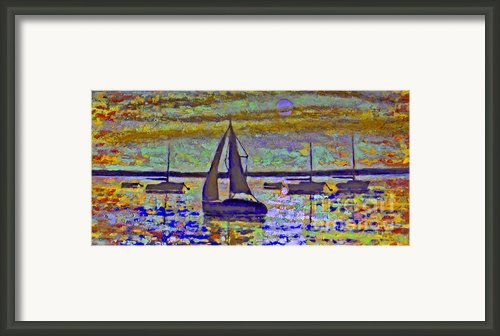 Blue Moon Framed Print By Kip Decker
