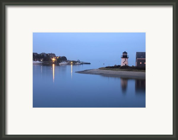 Blue Morning Framed Print By Roupen  Baker