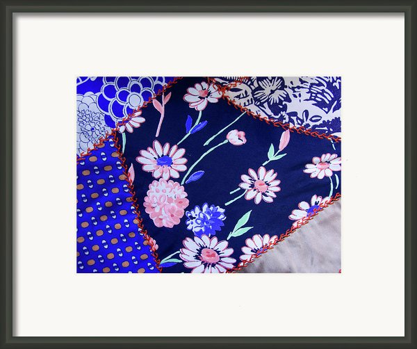 Blue On Blue Framed Print By Bonnie Bruno