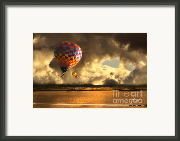 Blue Skies Ahead Framed Print By Author And Photographer Laura Wrede