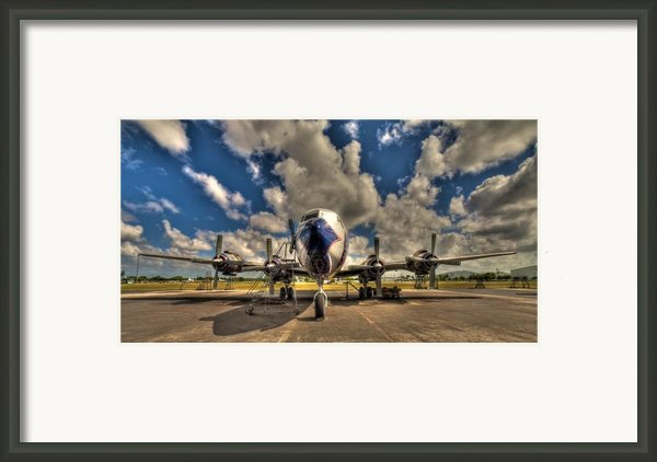 Blue Yonder Framed Print By William Wetmore