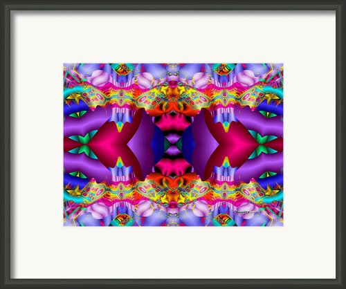 Blueberry Ice Framed Print By Robert Orinski
