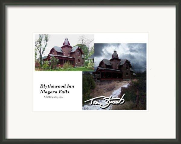 Blythewood Inn Framed Print By Tom Straub