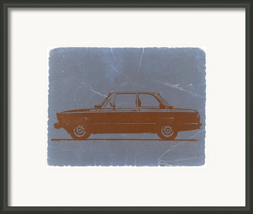 Bmw 2002 Orange Framed Print By Irina  March