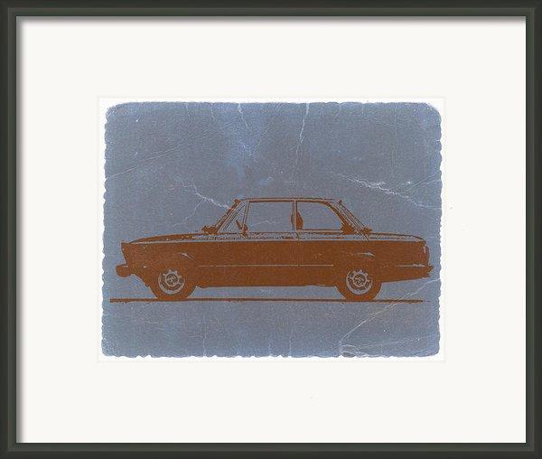Bmw 2002 Orange Framed Print By Irina  March