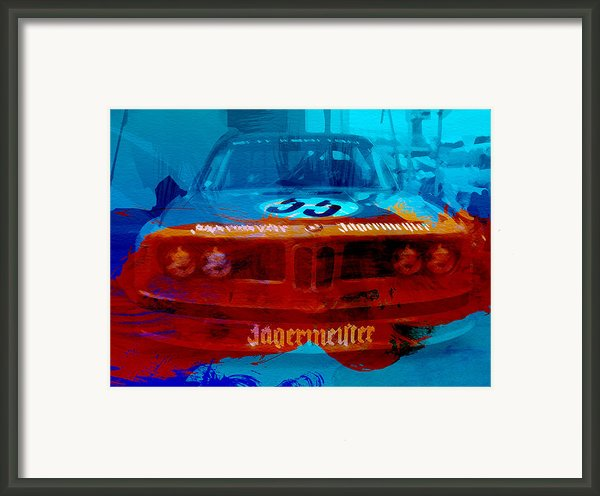 Bmw Jagermeister Framed Print By Irina  March