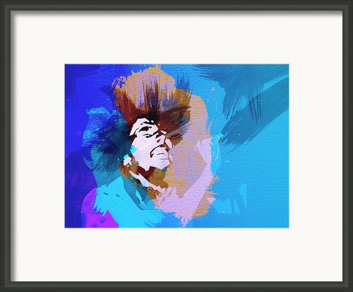 Bob Marley 3 Framed Print By Irina  March