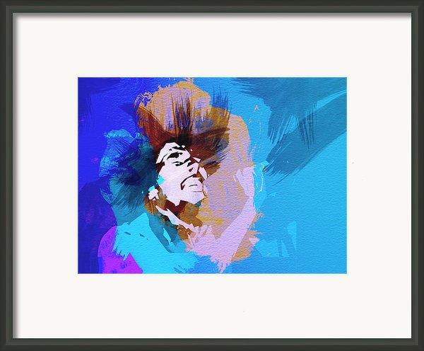 Bob Marley 3 Framed Print By Irina  March