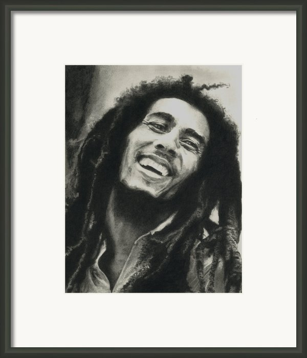 Bob Marley Framed Print By Dan Lamperd