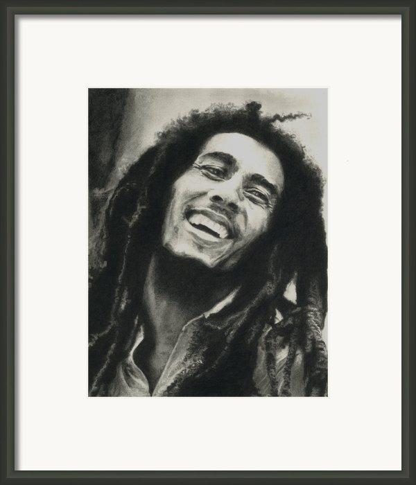 Bob Marley Framed Print By Dan Lamperd