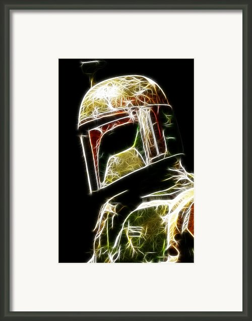 Boba Fett Framed Print By Paul Ward