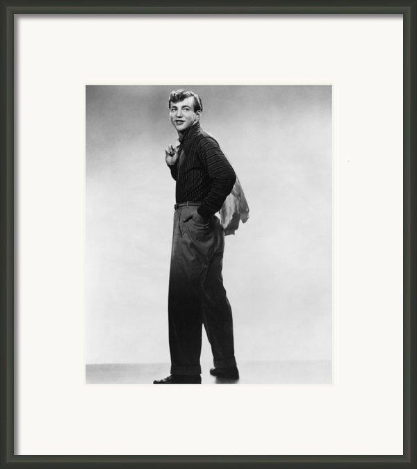 Bobby Darin, Ca. Mid-1950s Framed Print By Everett