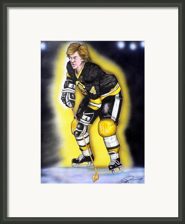 Bobby Orr Framed Print By Dave Olsen