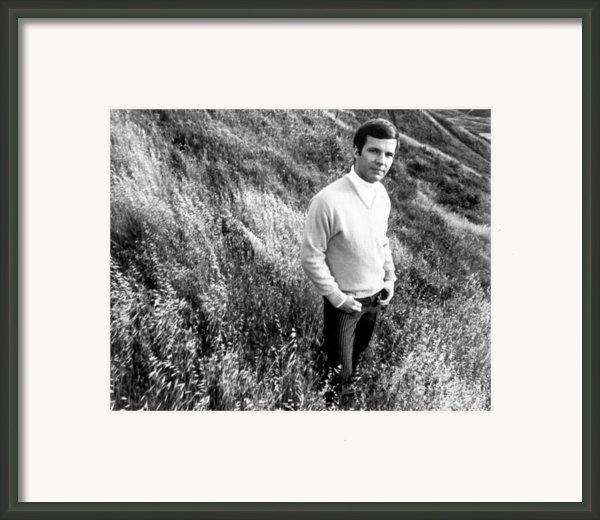 Bobby Vee, Ca. 1968 Framed Print By Everett