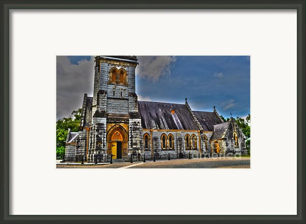 Bodalla All Saints Anglican Church  Framed Print By Joanne Kocwin