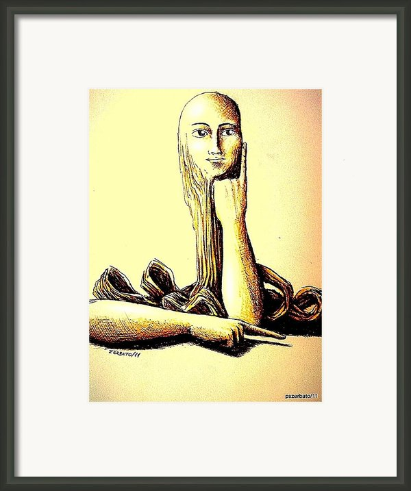 Body Language Framed Print By Paulo Zerbato