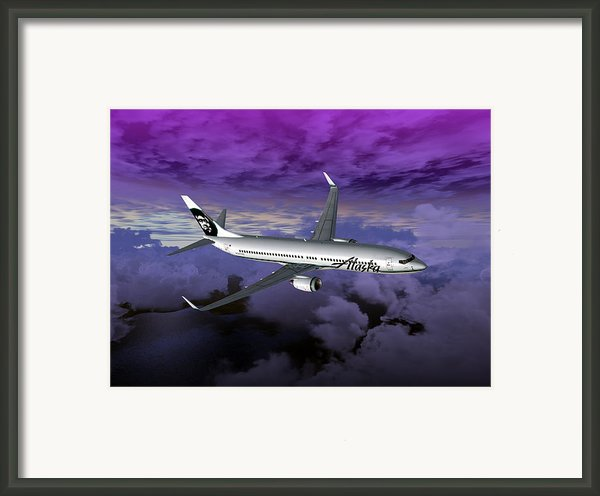 Boeing 737 Ng 001 Framed Print By Mike Ray