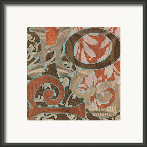 Bohemian Hope Framed Print By Debbie Dewitt