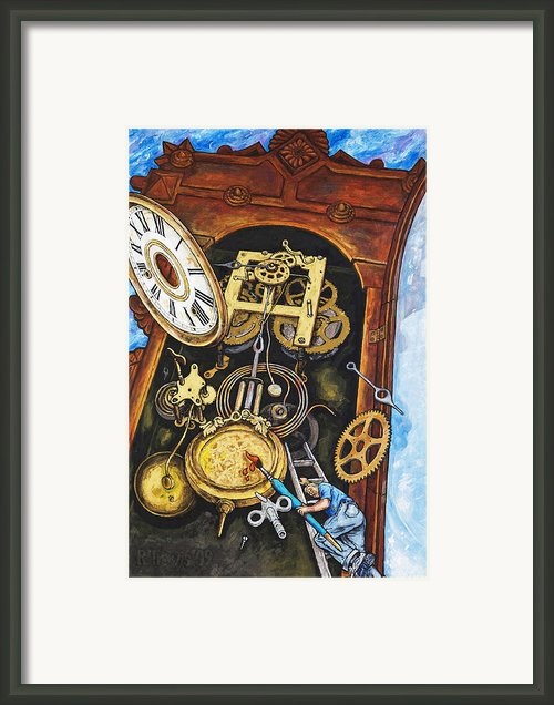 Boing Framed Print By Rich Travis
