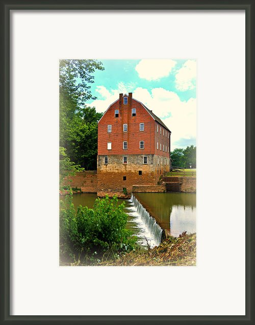 Bollinger Mill Framed Print By Marty Koch