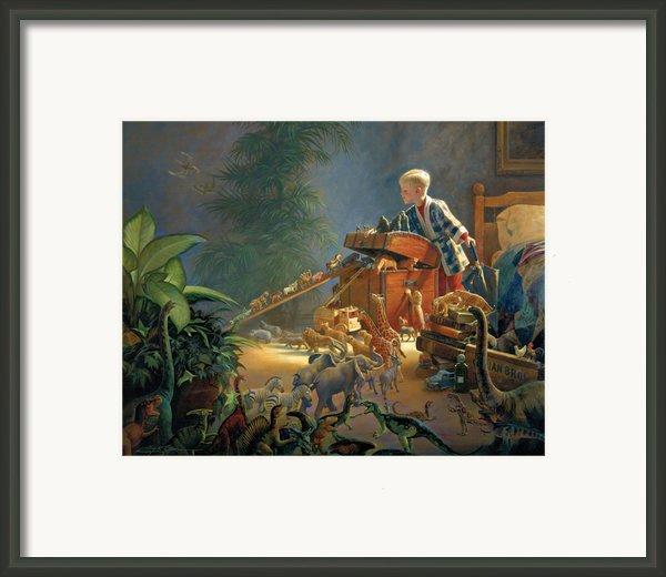 Bon Voyage Framed Print By Greg Olsen