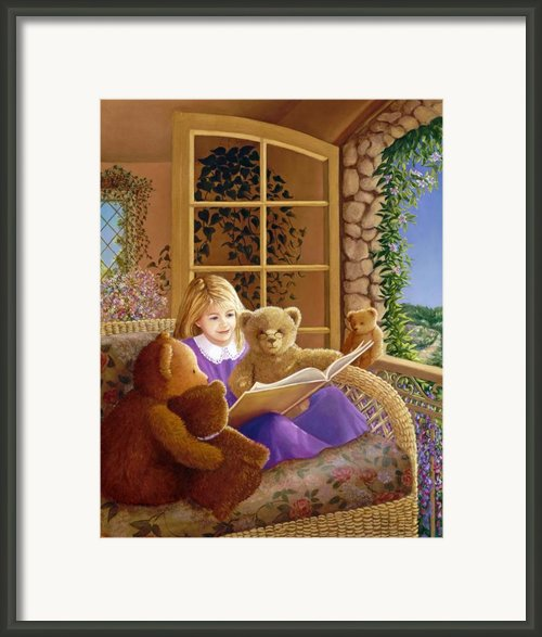 Book Club Framed Print By Susan Rinehart