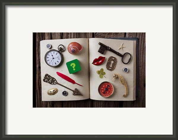 Book Of Secrets Framed Print By Garry Gay