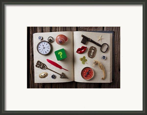 Book Of Secrets Framed Print By Garry Gay