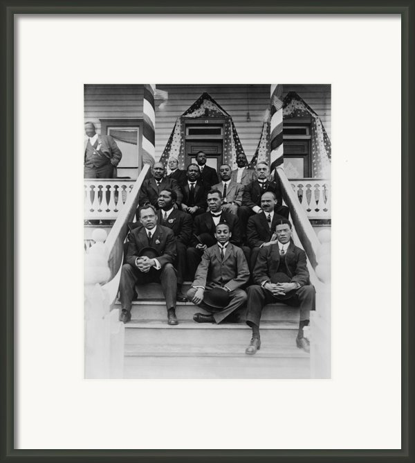 Booker T. Washington  1856-1915, Second Framed Print By Everett
