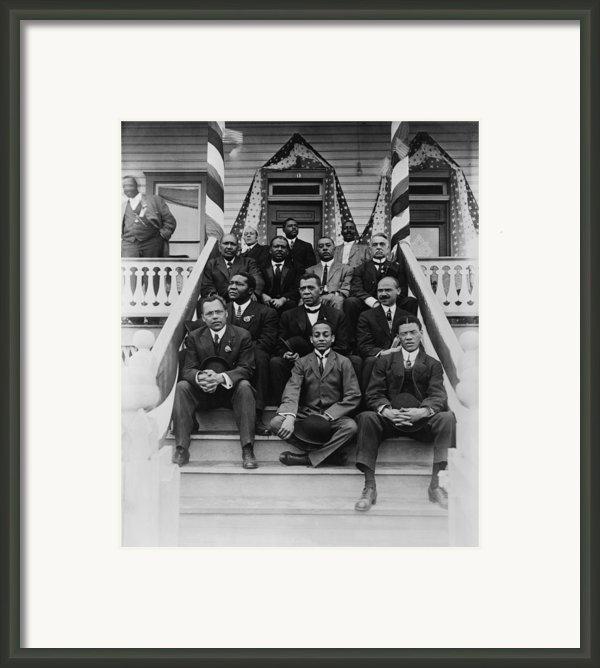 Booker T. Washington  1856-1915, Second Framed Print By Everett