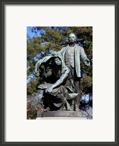 Booker T Washington Framed Print By Granger