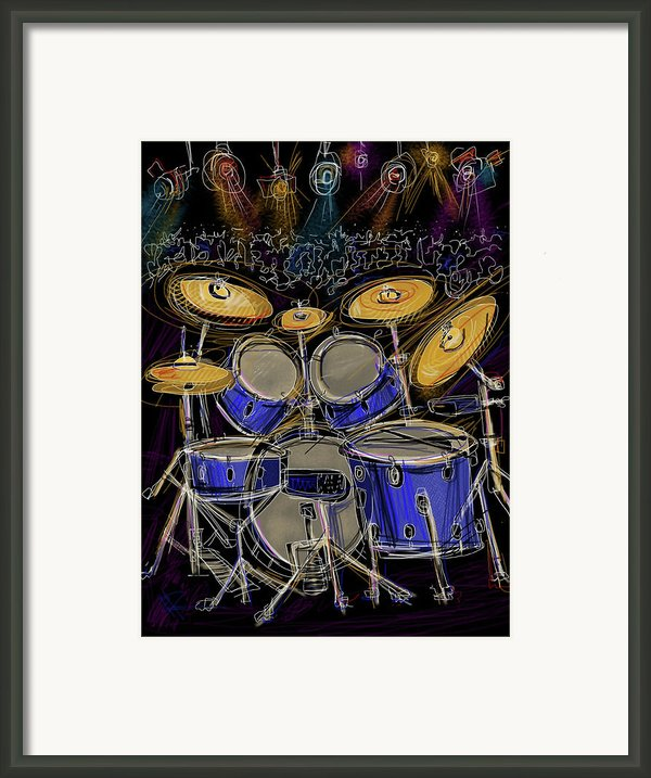 Boom Crash Framed Print By Russell Pierce