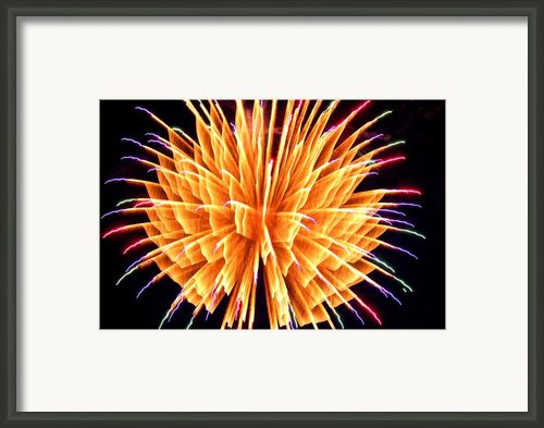 Boom Framed Print By Diane E Berry
