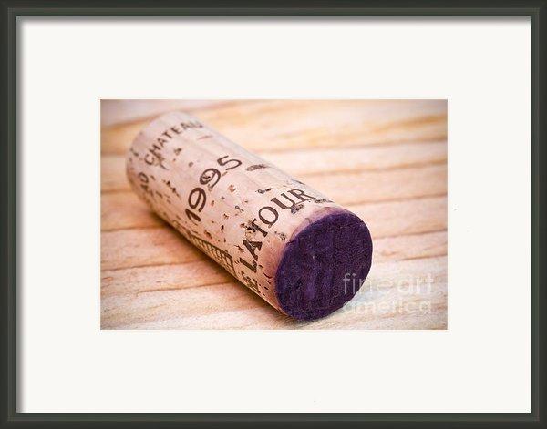 Bordeaux Wine Framed Print By Frank Tschakert