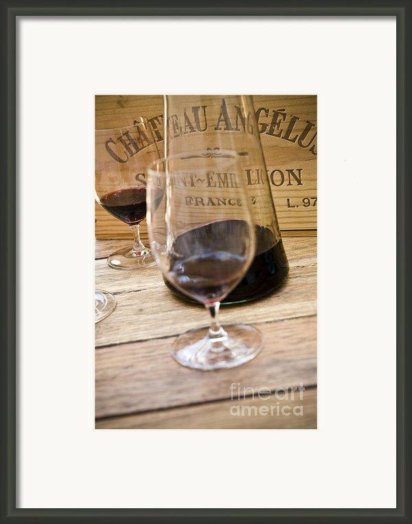 Bordeaux Wine Tasting Framed Print By Frank Tschakert
