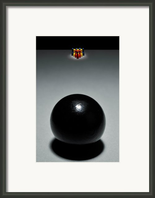 Boring Framed Print By Yagi Studio