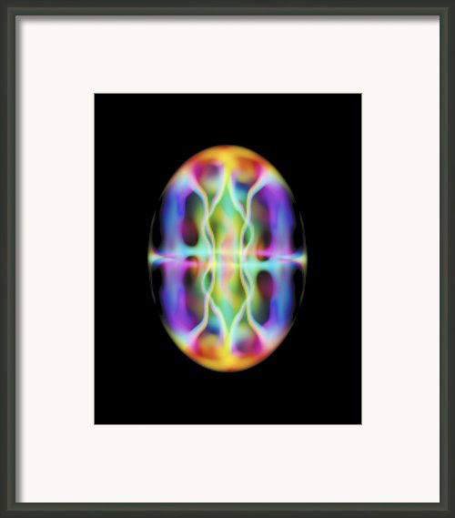 Bose-einstein Condensate Simulation Framed Print By National Institute Of Standards And Technology
