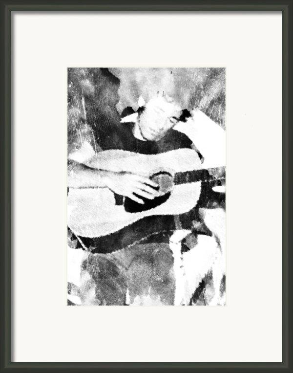 Boss Bruce Framed Print By Andrea Barbieri