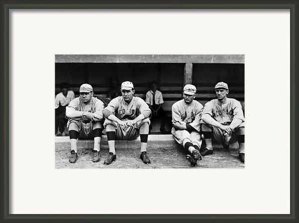 Boston Red Sox, C1916 Framed Print By Granger