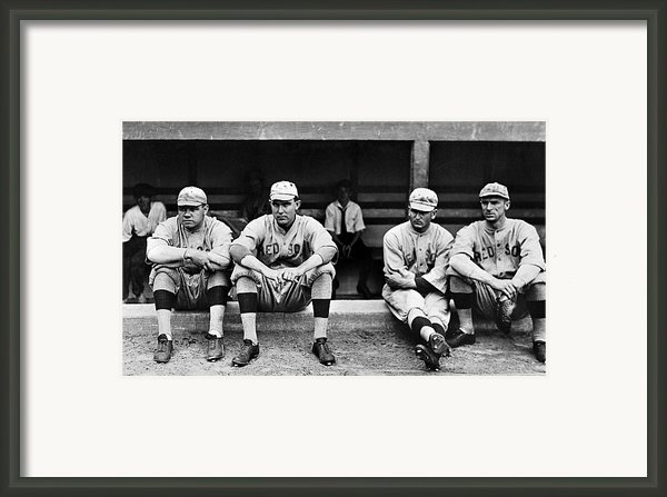 Boston Red Sox, C1916 Framed Print By Granger
