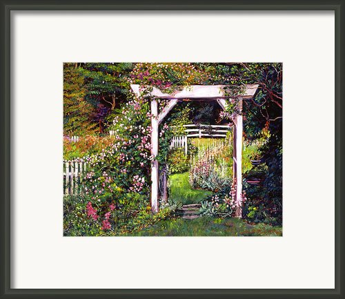 Botanical Paradise Framed Print By David Lloyd Glover