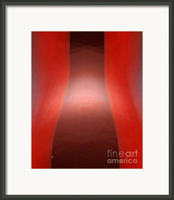 Bottleneck Framed Print By John Krakora