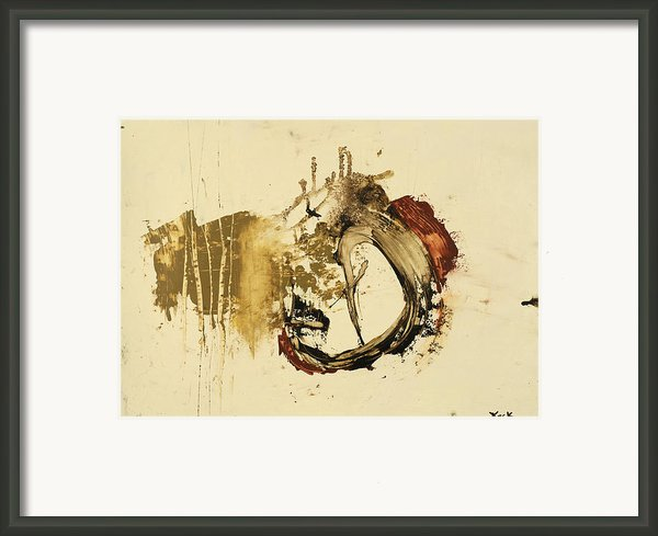 Bottoms Up Framed Print By Michel  Keck