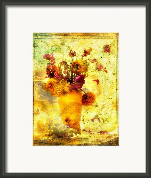 Bouquet Framed Print By Bernard Jaubert