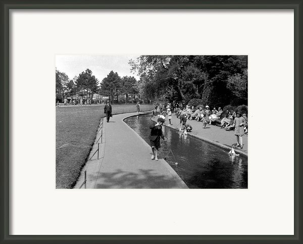 Bournemouth Park Framed Print By Alfred Hind Robinson