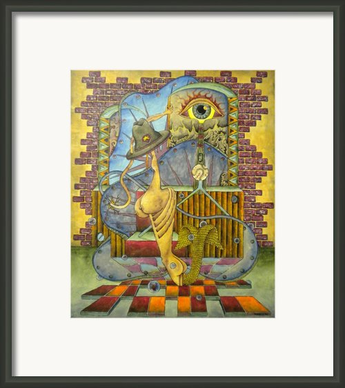 Bout Face Play Ball  Framed Print By Eric Rabbers