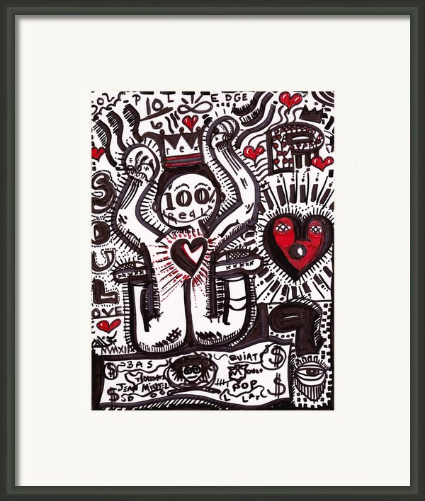 Bow To The Money Framed Print By Robert Wolverton Jr
