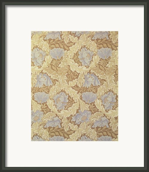 Bower Wallpaper Design Framed Print By William Morris